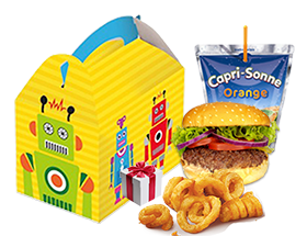 Foto Burger kindermenu + Toy