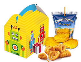 Foto Kipnuggets kindermenu + Toy