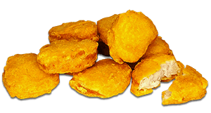 Foto Chicken Nuggets (8, 16 of 24 stuks)